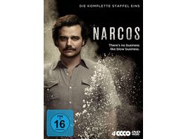 Narcos Staffel 1 4 DVDs