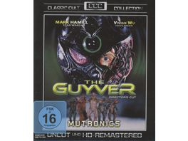 The Guyver Uncut Remastered Edition Classic Cult Collection