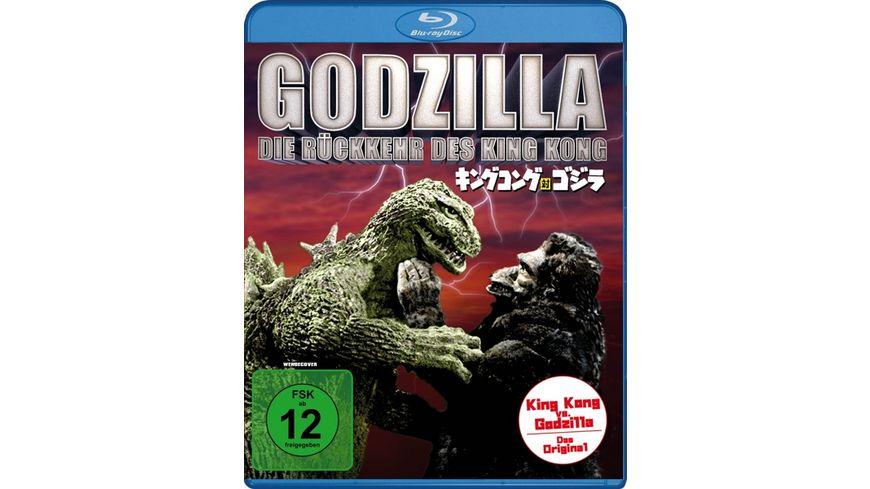 Godzilla Die Rueckkehr des King Kong