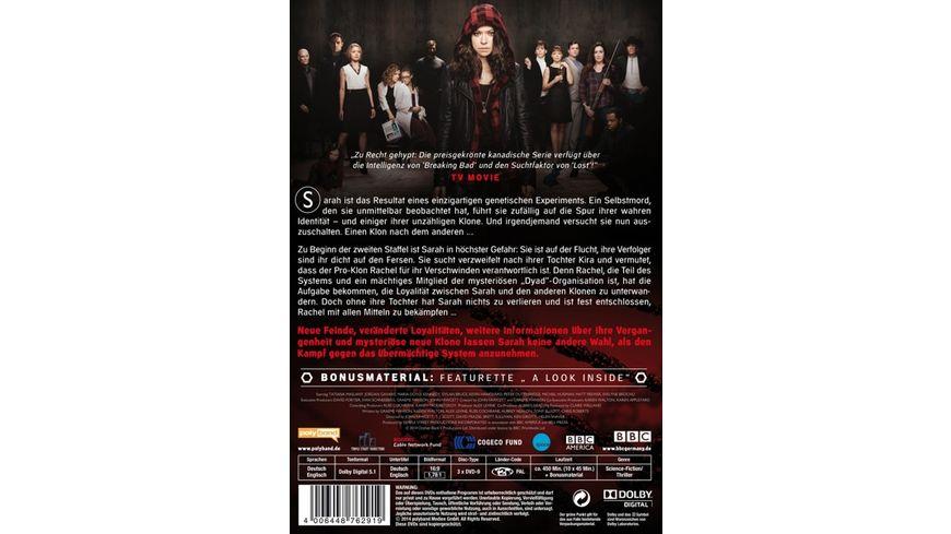 Orphan Black Staffel 2 3 DVDs