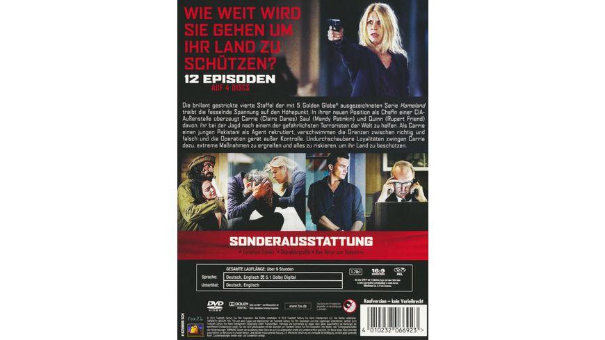 Homeland Season 4 4 DVDs