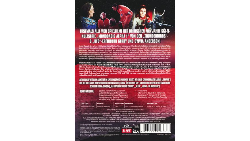 Mondbasis Alpha 1 Die Spielfilme Box 4 DVDs