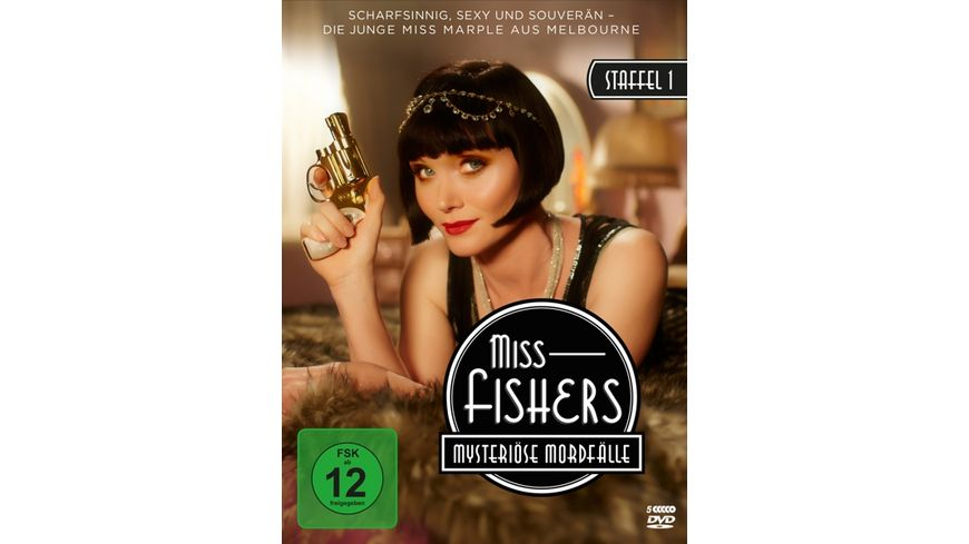 Miss Fishers mysterioese Mordfaelle Staffel 1 5 DVDs