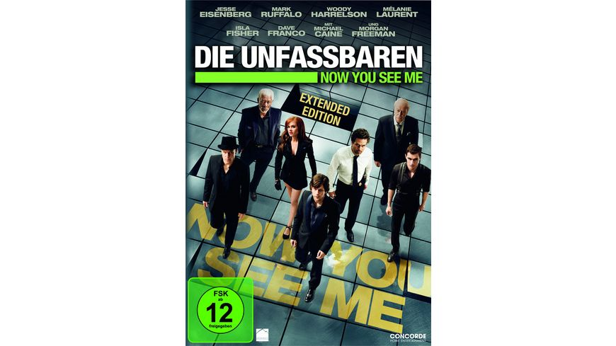 Die Unfassbaren Now you see me Extended Edition