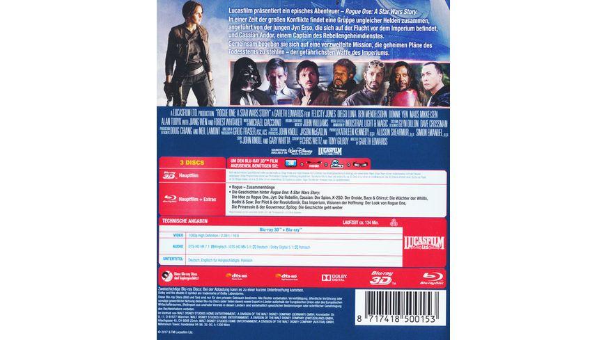 Rogue One A Star Wars Story Blu ray 2D Bonus Disc