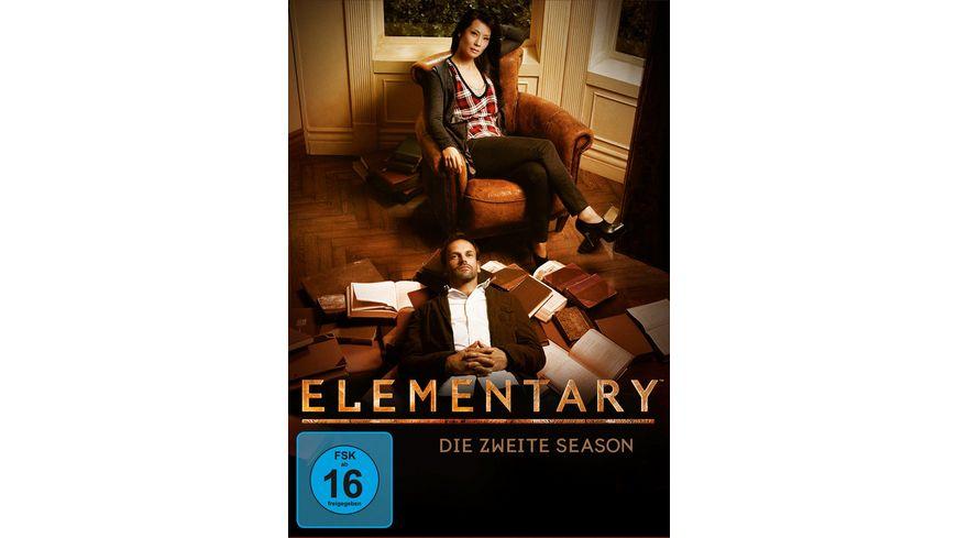 Elementary Season 2 6 DVDs