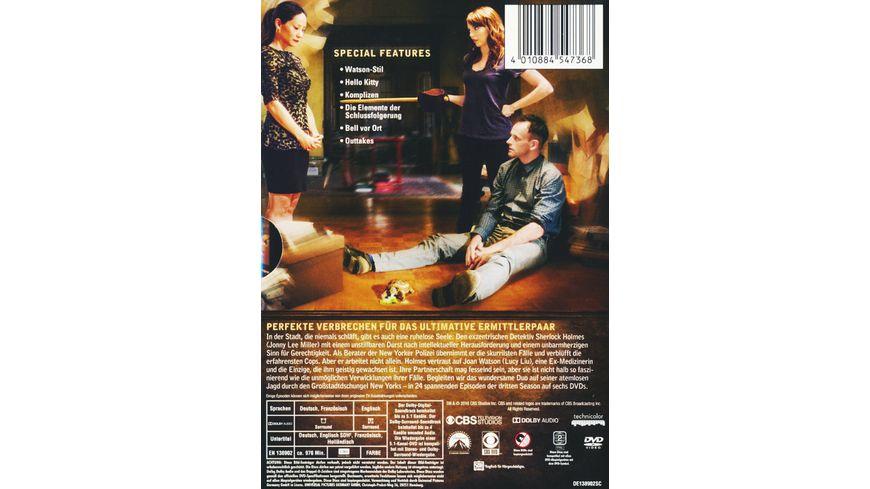 Elementary Season 3 6 DVDs