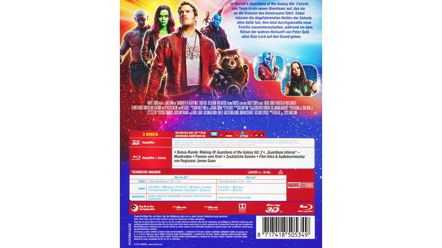 Guardians of the Galaxy 2 Steelbook Blu ray 2D