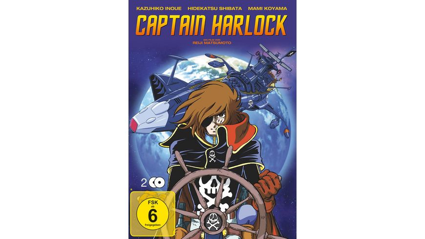 Captain Harlock LE 2 DVDs