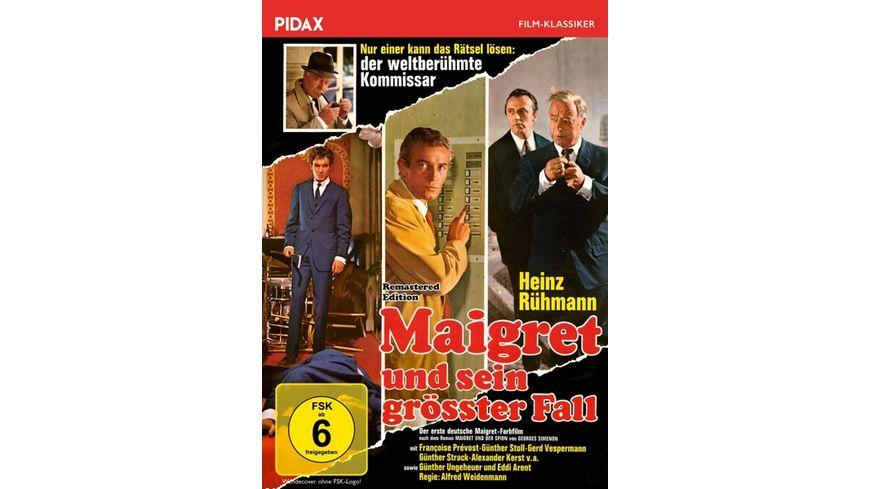 Maigret und sein groesster Fall Remastered Edition Pidax Film Klassiker