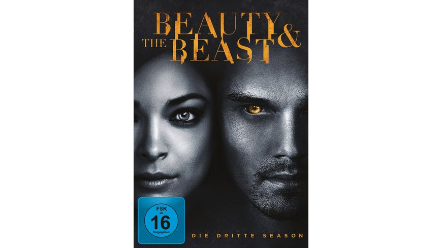 Beauty and the Beast Season 3 4 DVDs