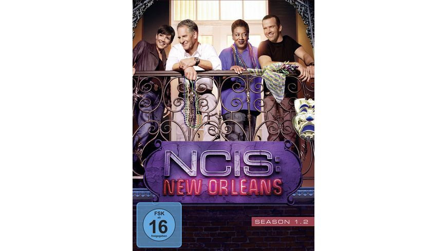 NCIS New Orleans Season 1 2 3 DVDs
