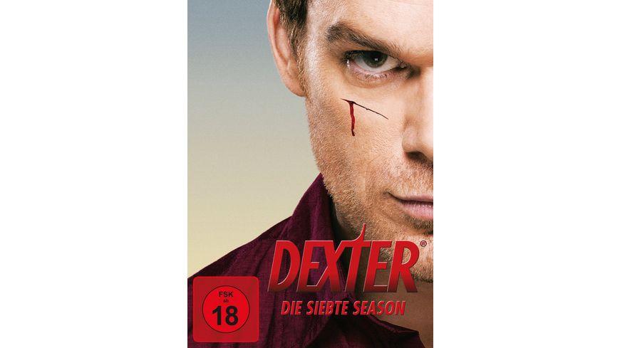 Dexter Die siebte Season 4 DVDs