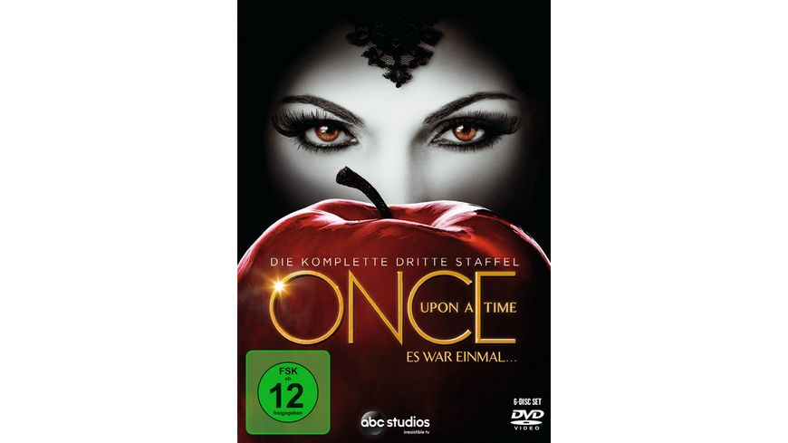 Once upon a time Es war einmal Staffel 3 6 DVDs