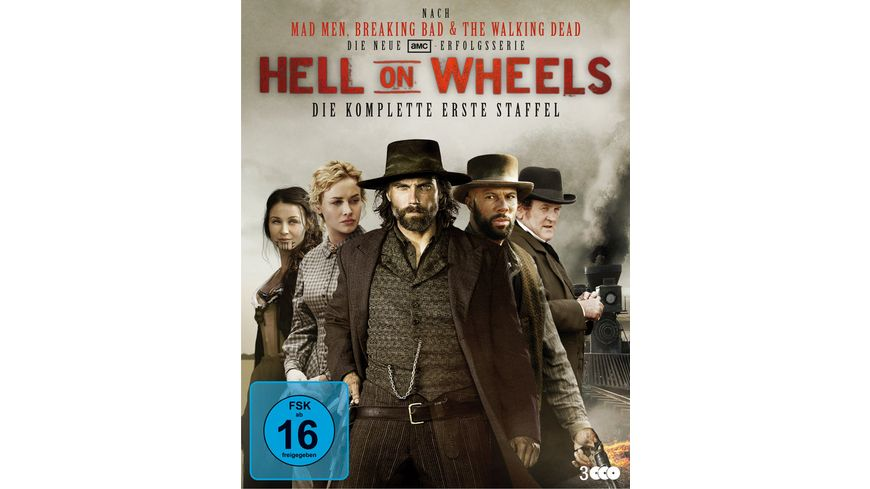 Hell on Wheels Die komplette erste Staffel 3 BRs
