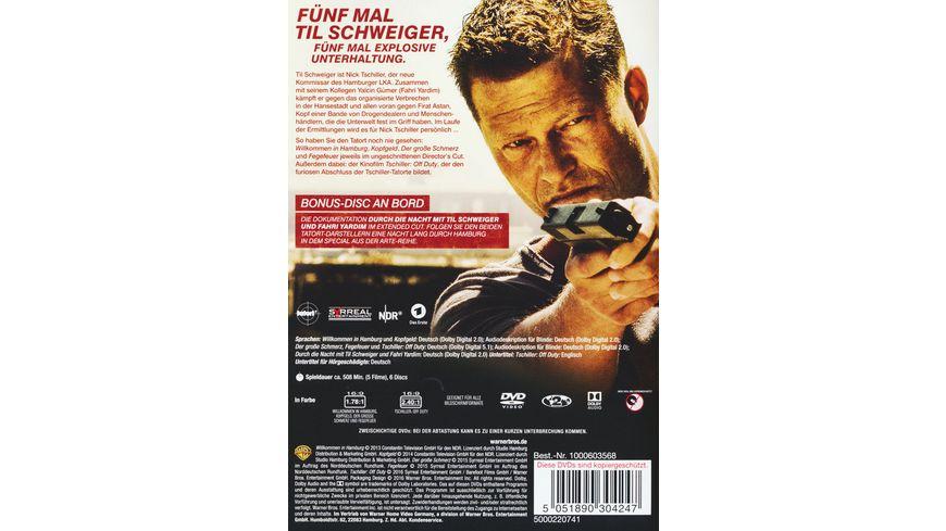 Tschiller Box Set Tatort mit Til Schweiger 1 4 Tschiller Off Duty 6 DVDs