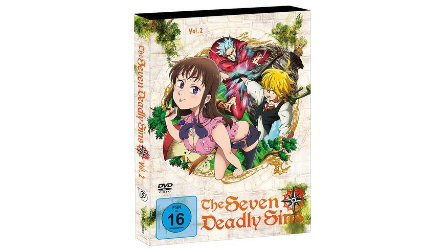The Seven Deadly Sins Vol 2 Episode 07 12 2 DVDs