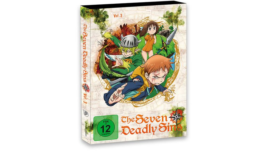 The Seven Deadly Sins Vol 3 Episode 13 18 2 DVDs