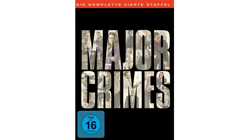 Major Crimes Staffel 4 5 DVDs