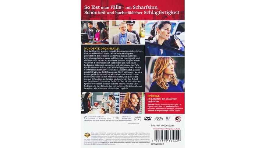 Rizzoli Isles Staffel 6 4 DVDs