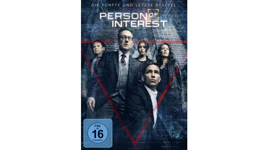 Person of Interest Staffel 5 3 DVDs