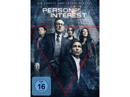 Person of Interest Staffel 5 3 DVDs