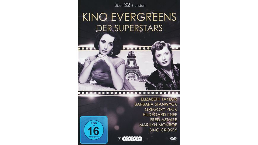 Kino Evergreens der Superstars 7 DVDs