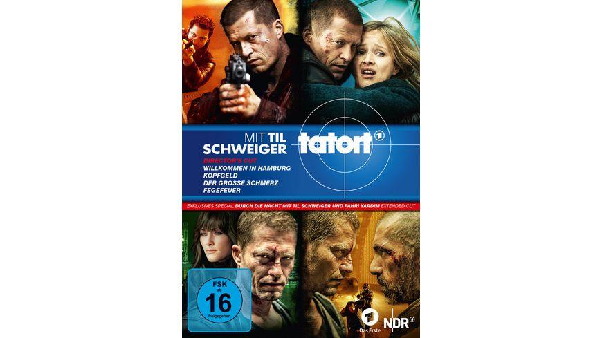 Tatort Til Schweiger Boxset 1 4 Durch die Nacht mit Til Schweiger und Fahri Yardim Extended Cut Dokumentation