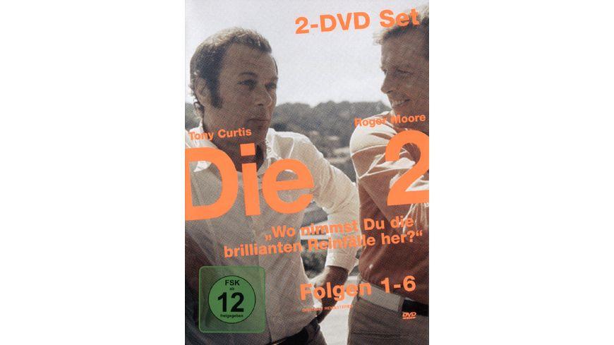Die Zwei TV Serie Folge 01 06 2 DVDs