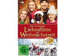 Die schoensten Liebesfilme zur Weihnachtszeit 2 DVDs