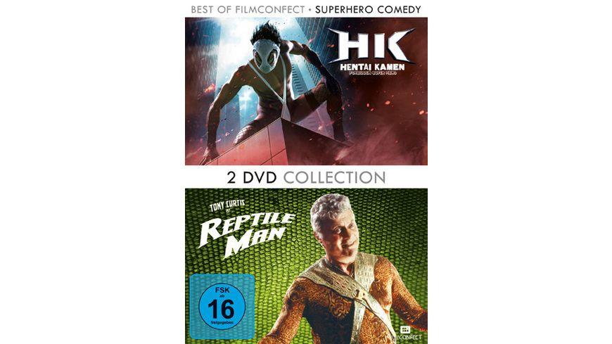 Superhero Comedy Box 2 DVDs