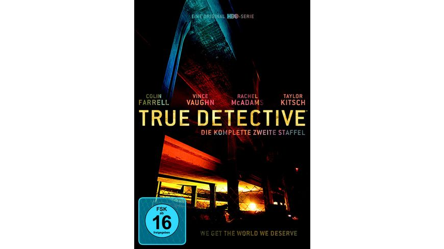 True Detective Staffel 2 3 DVDs