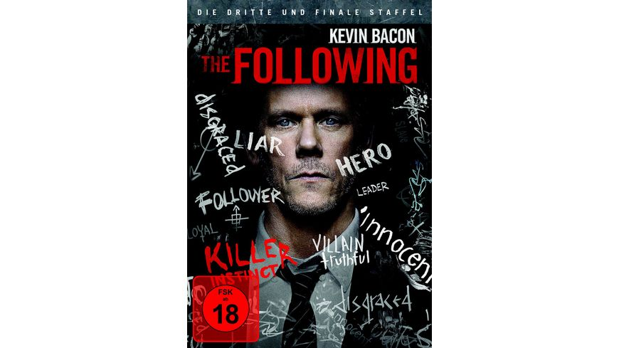 The Following Staffel 3 4 DVDs