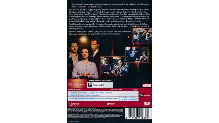 Agent Carter Die komplette Serie 4 DVDs