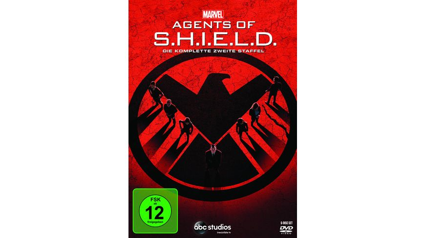 Marvel s Agents of S H I E L D Staffel 2 6 DVDs