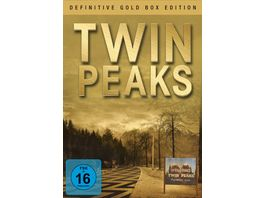 Twin Peaks Definitive Gold Box Edition 10 DVDs