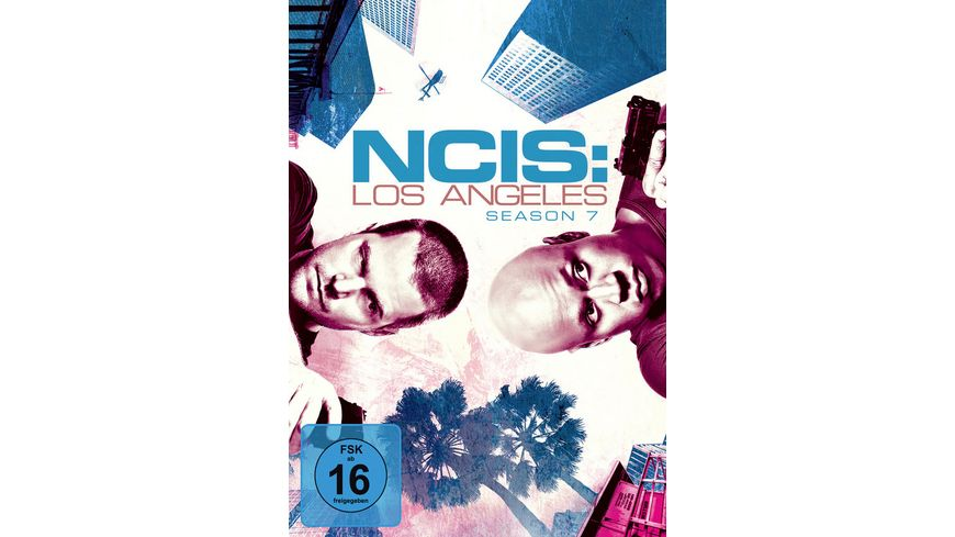 NCIS Los Angeles Season 7 6 DVDs