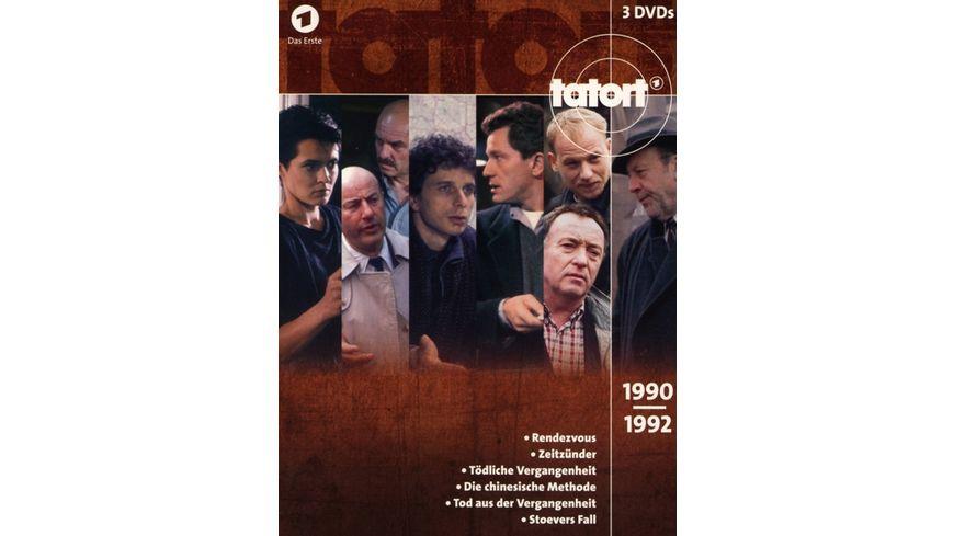 Tatort Klassiker 90er Box 1 1990 1992 3 DVDs