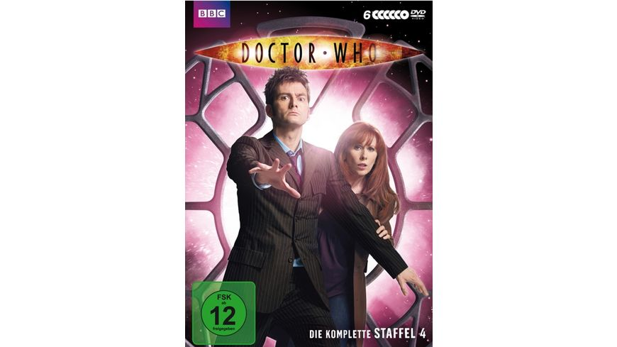 Doctor Who Die komplette 4 Staffel 6 DVDs
