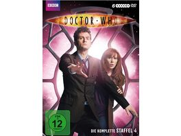 Doctor Who Die komplette 4 Staffel 6 DVDs