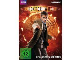 Doctor Who Die kompletten Specials 5 DVDs