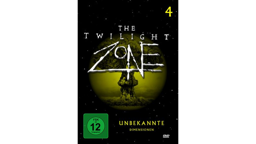 The Twilight Zone Unbekannte Dimensionen Teil 4 4 DVDs