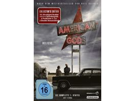 American Gods Staffel 1 Collector s Edition 4 DVDs