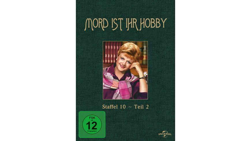 Mord ist ihr Hobby Staffel 10 Teil 2 3 DVDs