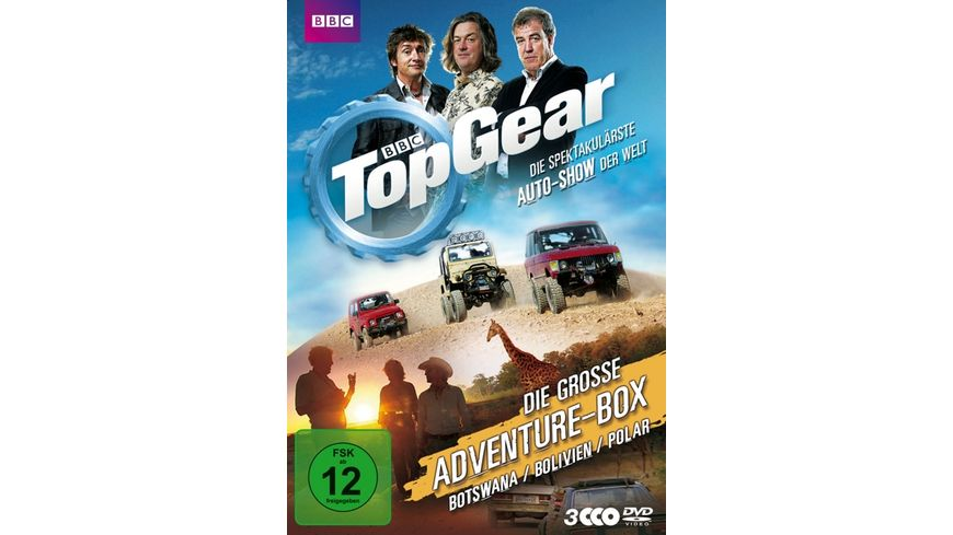 Top Gear Die grosse Adventure Box Botswana Bolivien Polar
