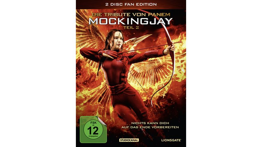 Die Tribute von Panem Mockingjay 2 Fan Edition 2 DVDs