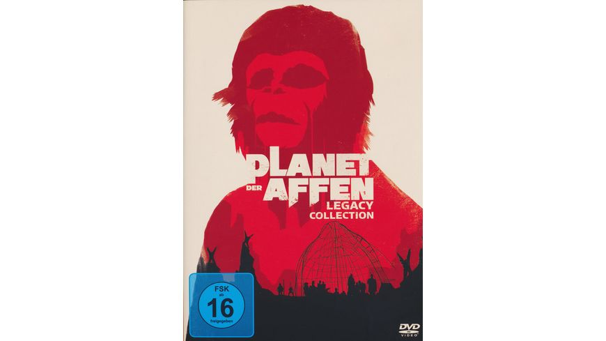 Planet der Affen Legacy Collection 6 DVDs