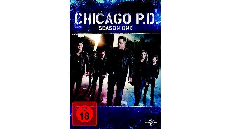 Chicago P D Season 1 4 DVDs