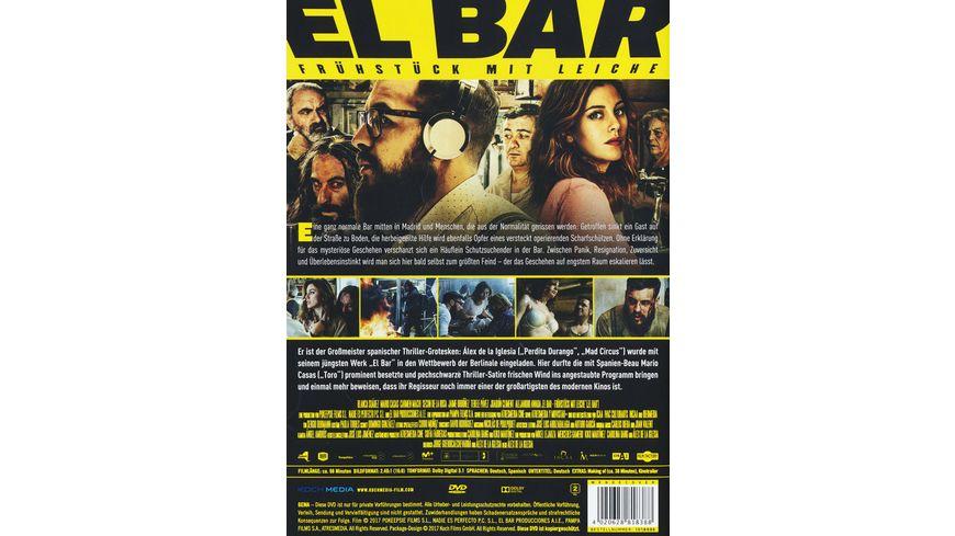 El Bar Fruehstueck mit Leiche