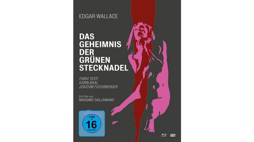 Edgar Wallace Das Geheimnis der gruenen Stecknadel Mediabook 2 BRs DVD